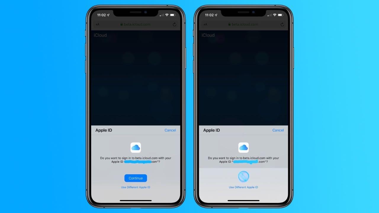 Apple тестує новий процес входу в iCloud