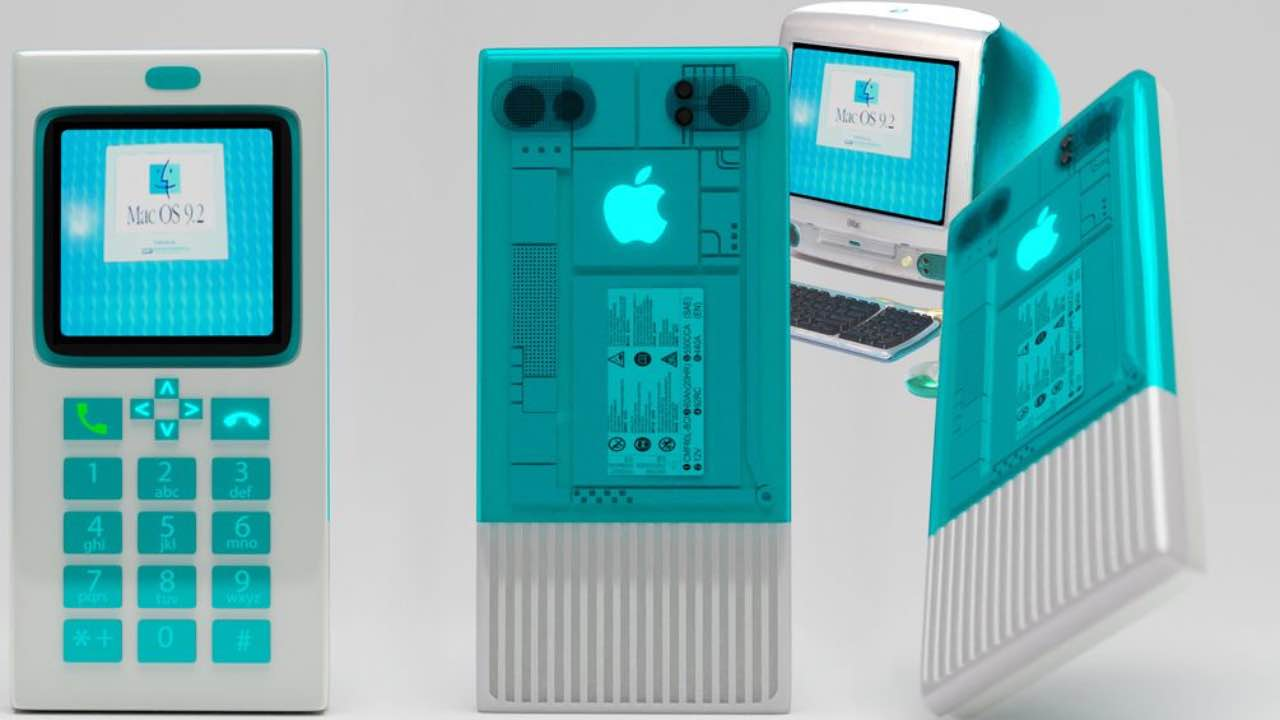 FuturePunk зобразив ретро iPhone у стилі Macintosh та iMac G3