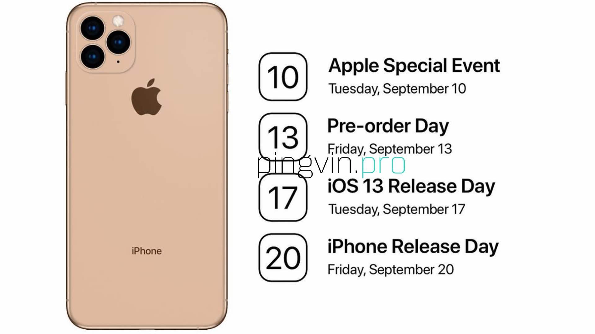 Apple: стала відома дата презентації iPhone 11