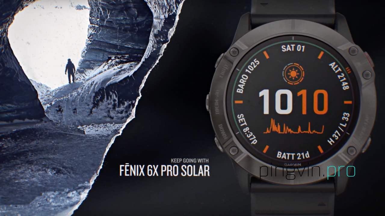 Garmin Instinct 2 Solar отримає зарядку від сонця як у Fenix 6X Pro Solar