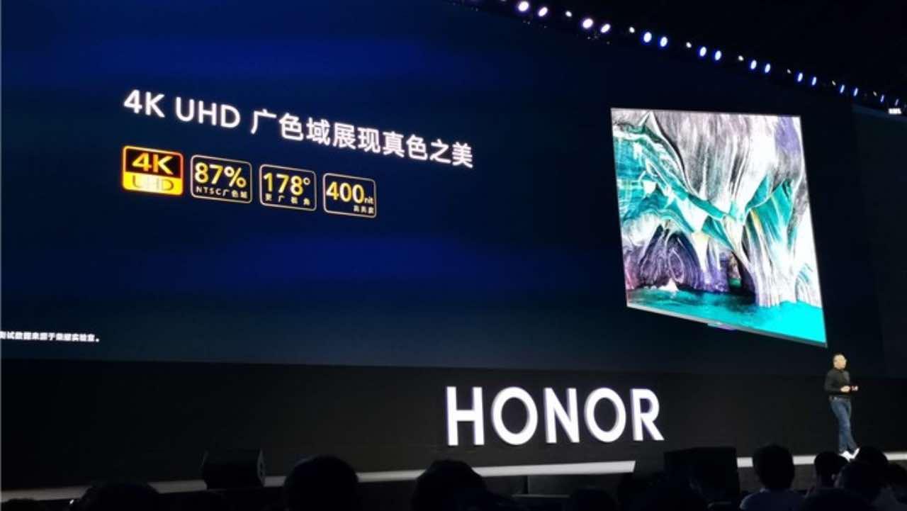 Honor Smart Screen першим отримав Harmony OS