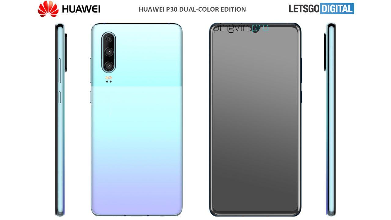 Huawei P30 отримає новий дизайн у стилі Google Pixel