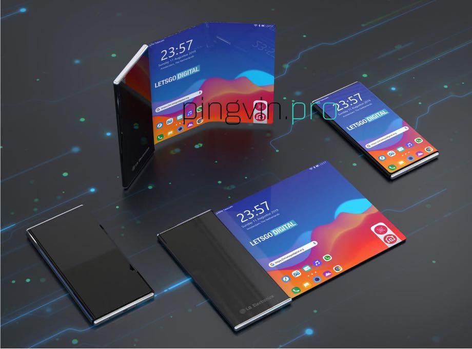 LG запатентувала смартфон, який можна згорнути