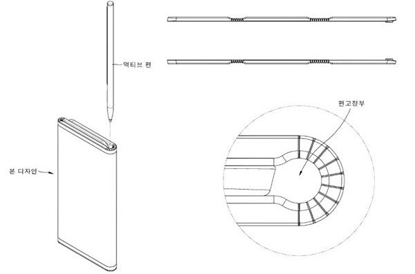 LG запатентував гнучкий смартфон зі стилусом