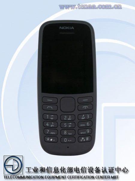 Нова кнопкова Nokia 105 вийде вже цього місяця