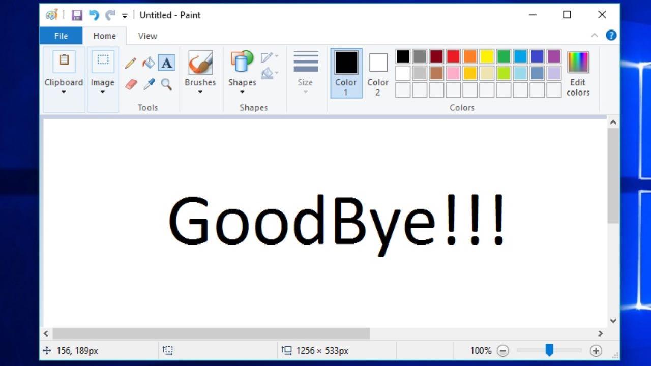 Paint можна буде видалити з Windows 10
