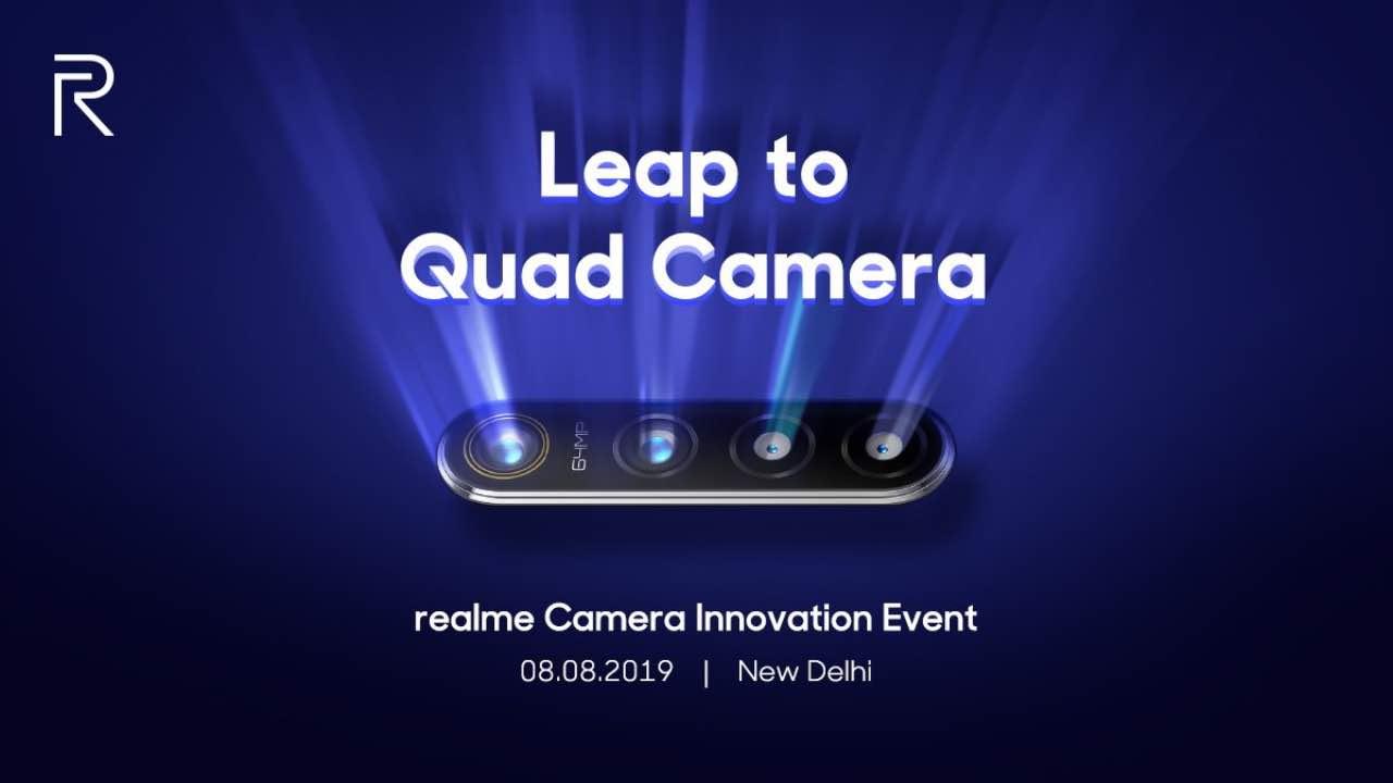 Realme із 64 Мп камерою буде представлений вже 8 серпня