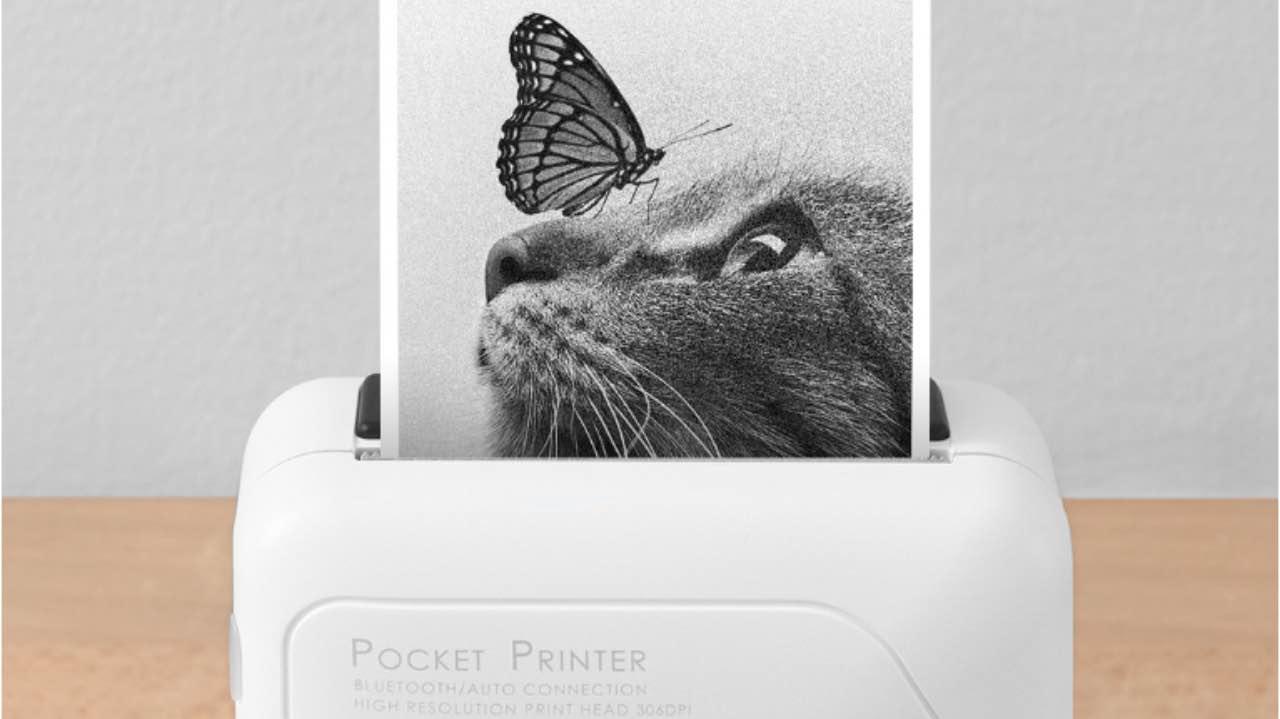 Xiaomi випустила на Youpin новий кишеньковий принтер