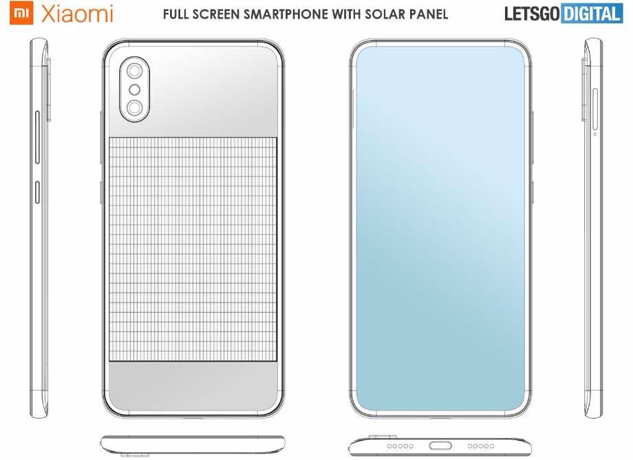 Xiaomi готує смартфон із сонячними панелями і камерою під екраном