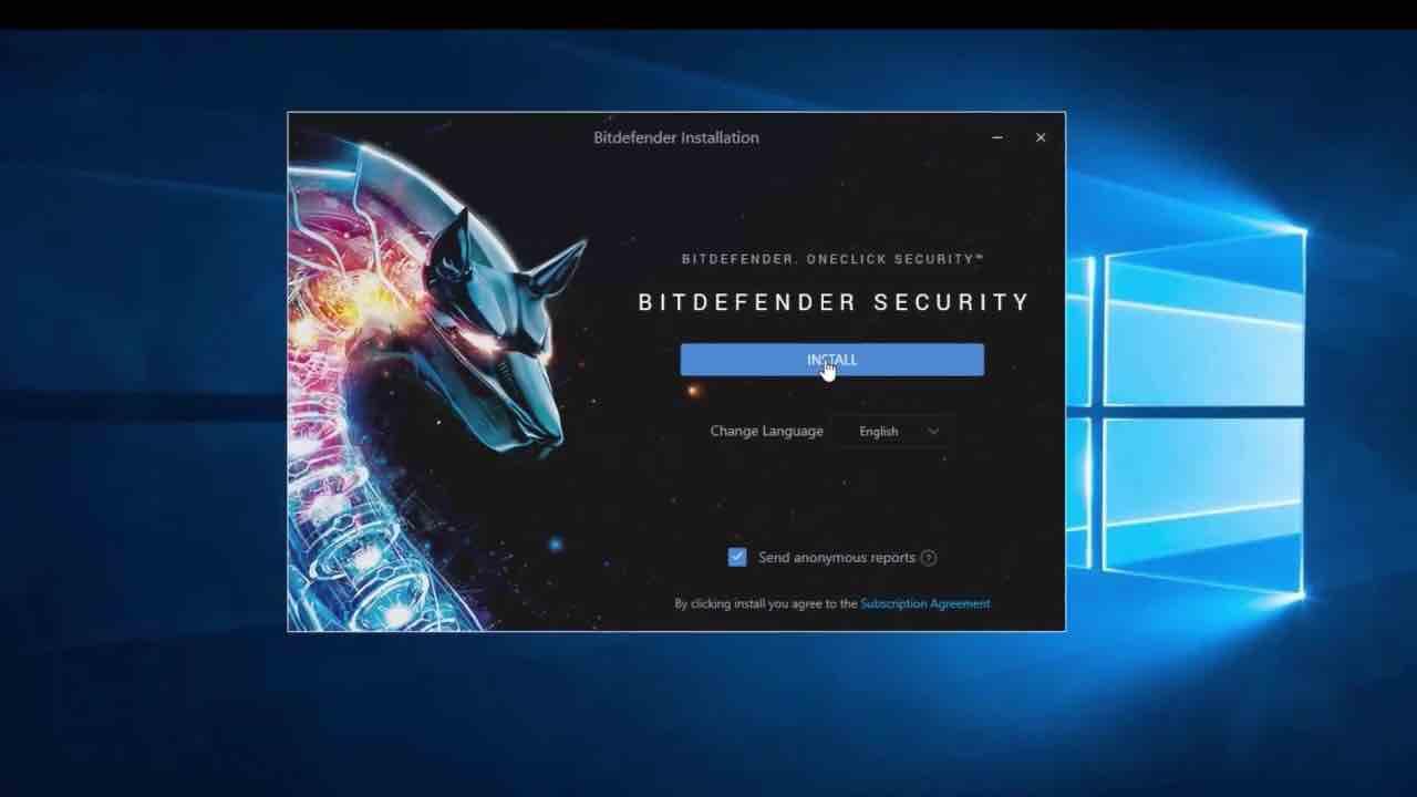 Встановлення Bitdefender 2020 на ПК з Windows 10