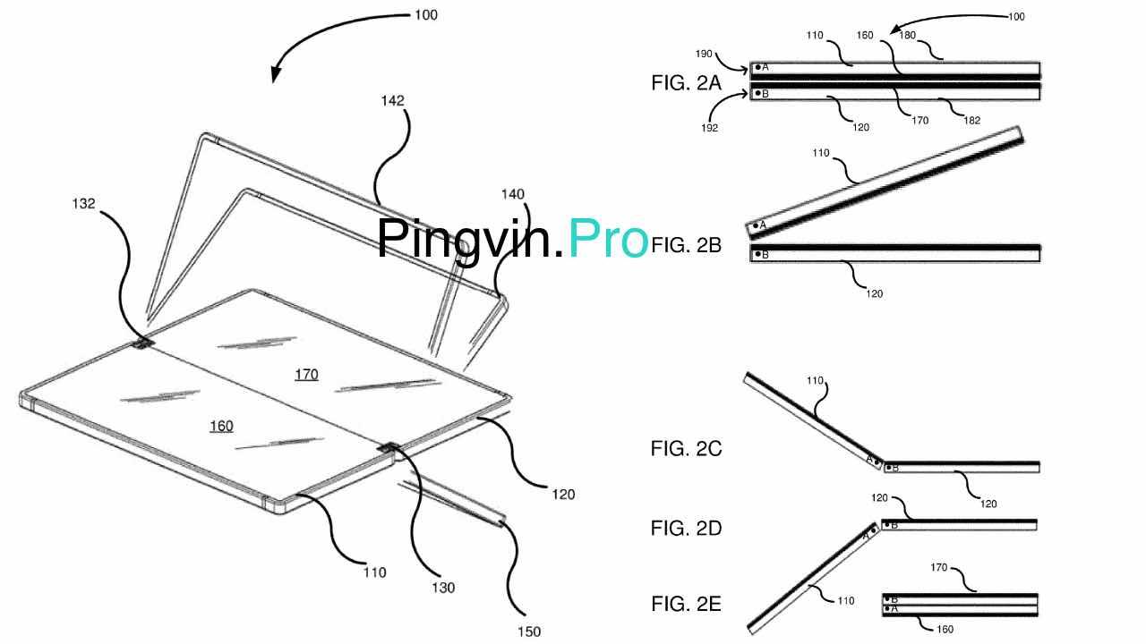 Microsoft отримала ще 2 патенти на гнучкий Centaurus