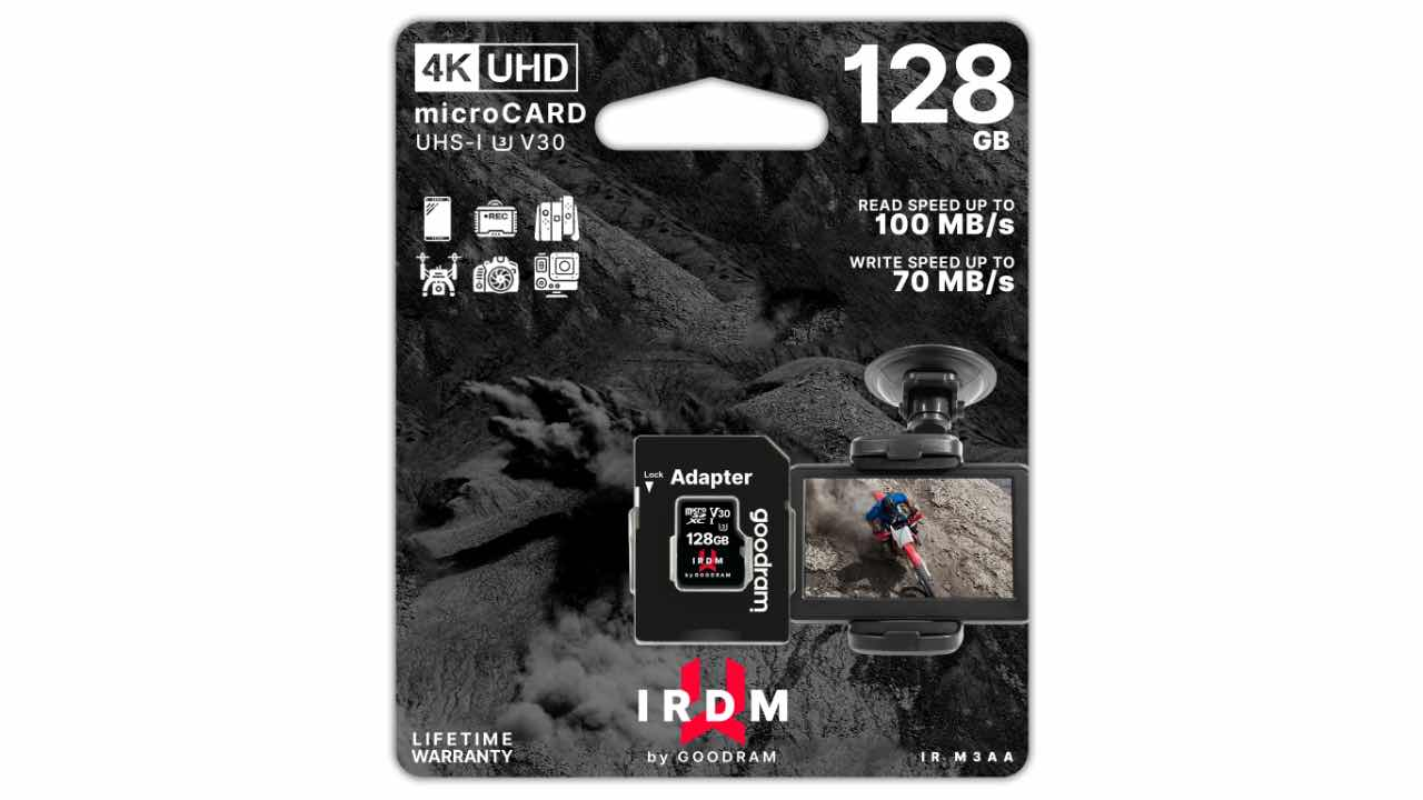 Goodram - IRDM UHS-I U3 V30 (Wilk Elektronik SA)