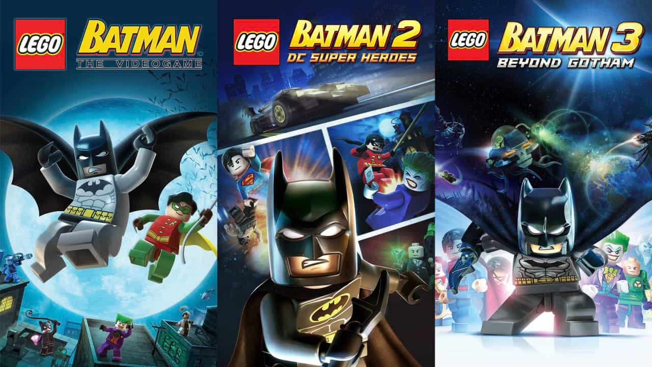 Lego Batman Trilogy від Epic Games