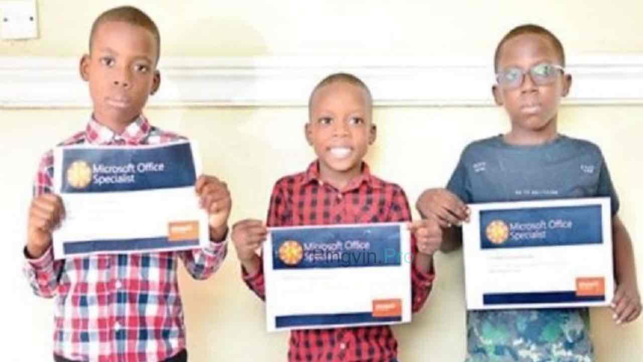Microsoft Nextgen IT Experts три афро-американських хлопчики перемогли у конкурсі