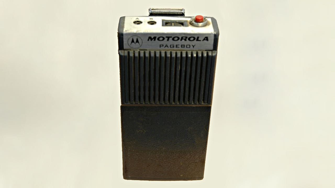 Пейджер – Motorola Pageboy - Handie-Talkie Radio Pocket Pager (1955)