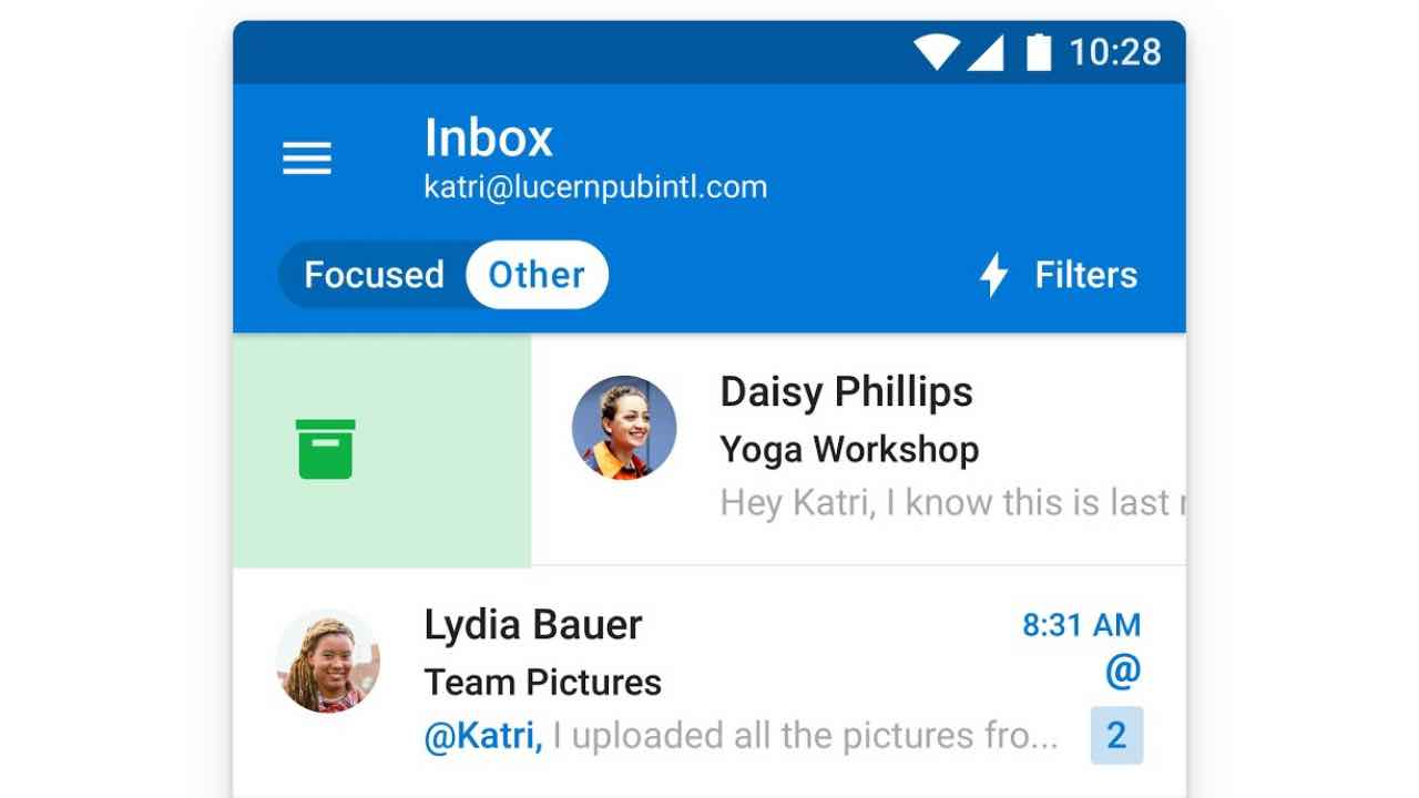 Microsoft додає важливі функції в Outlook для Android