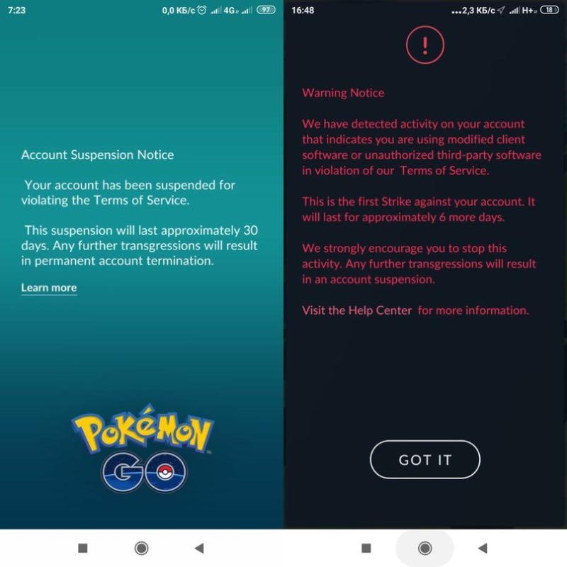 Pokemon Go блокує користувачів смартфонів Xiaomi за шахрайство