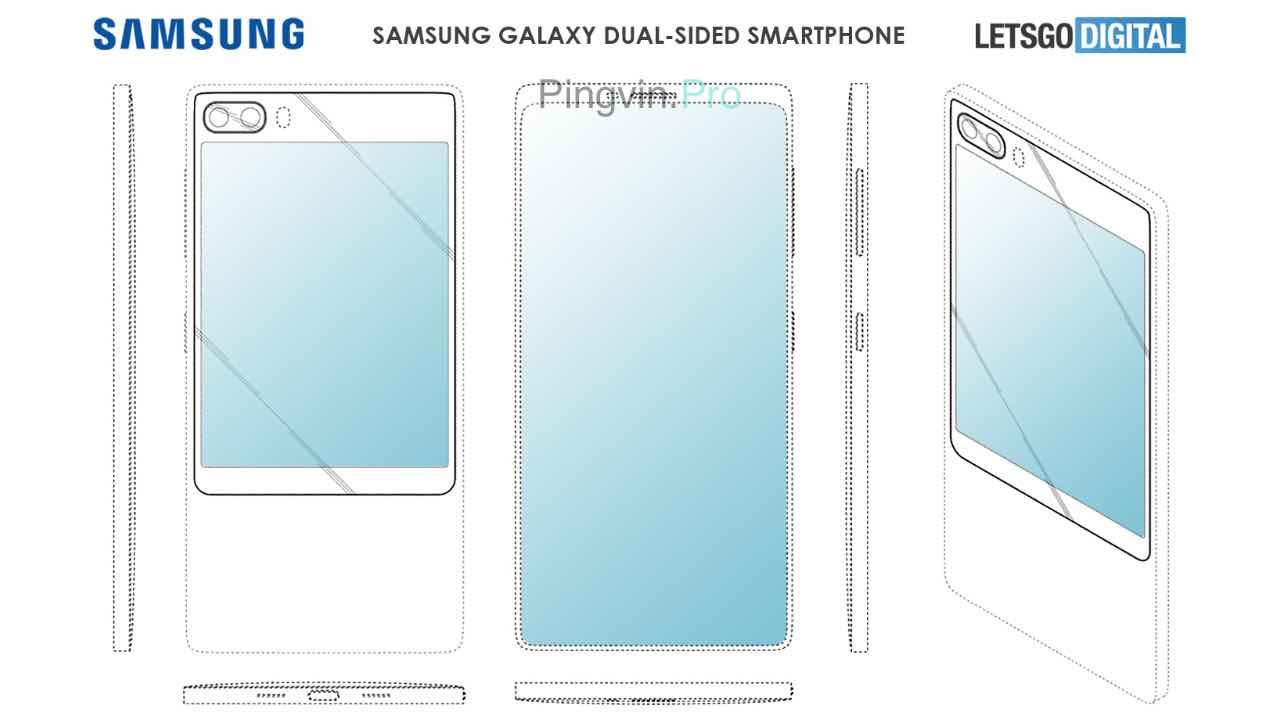 патент смартфона, яким може бути Samsung Galaxy S11e