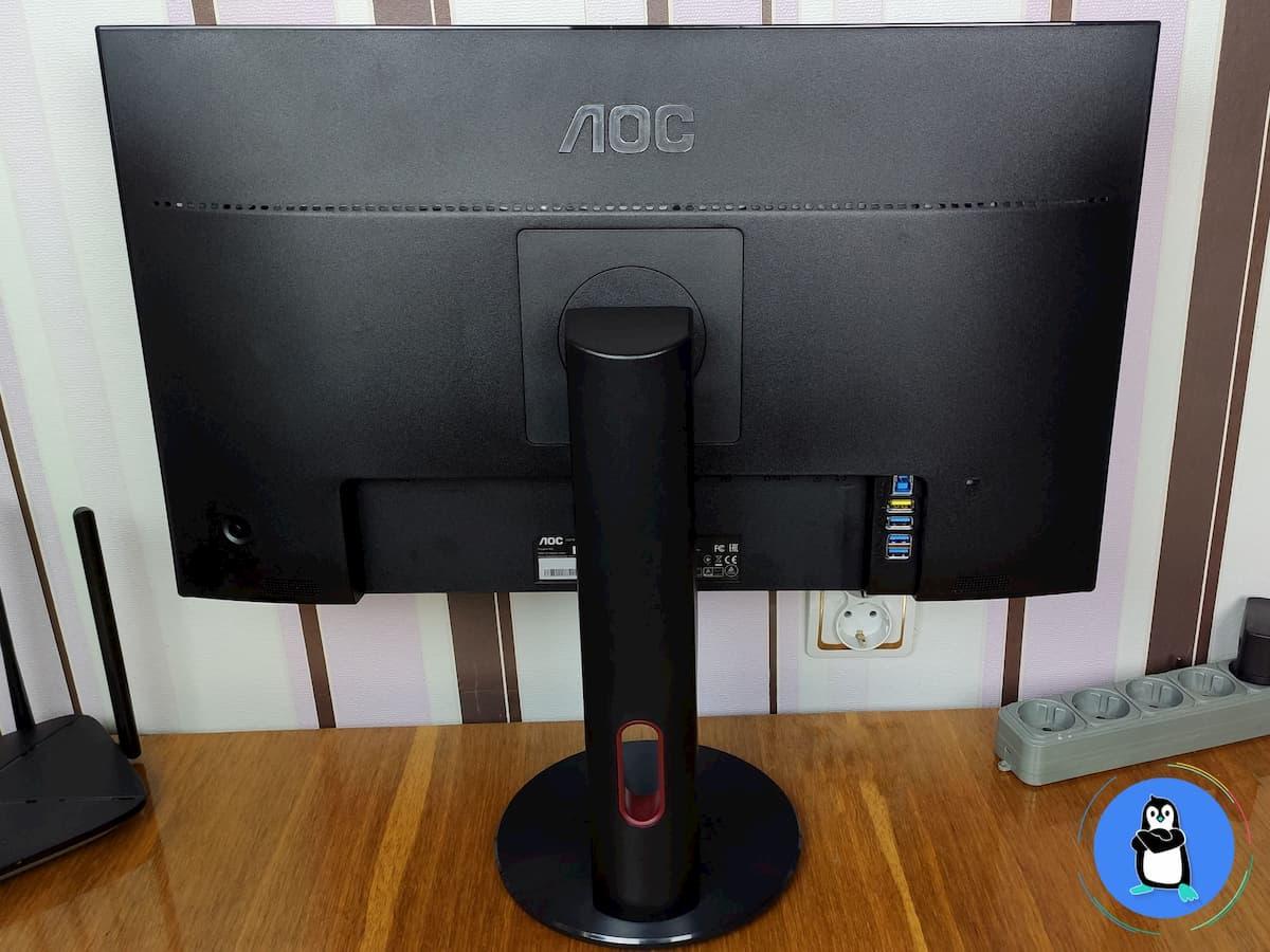 AOC G2590PX (вигляд ззаду)