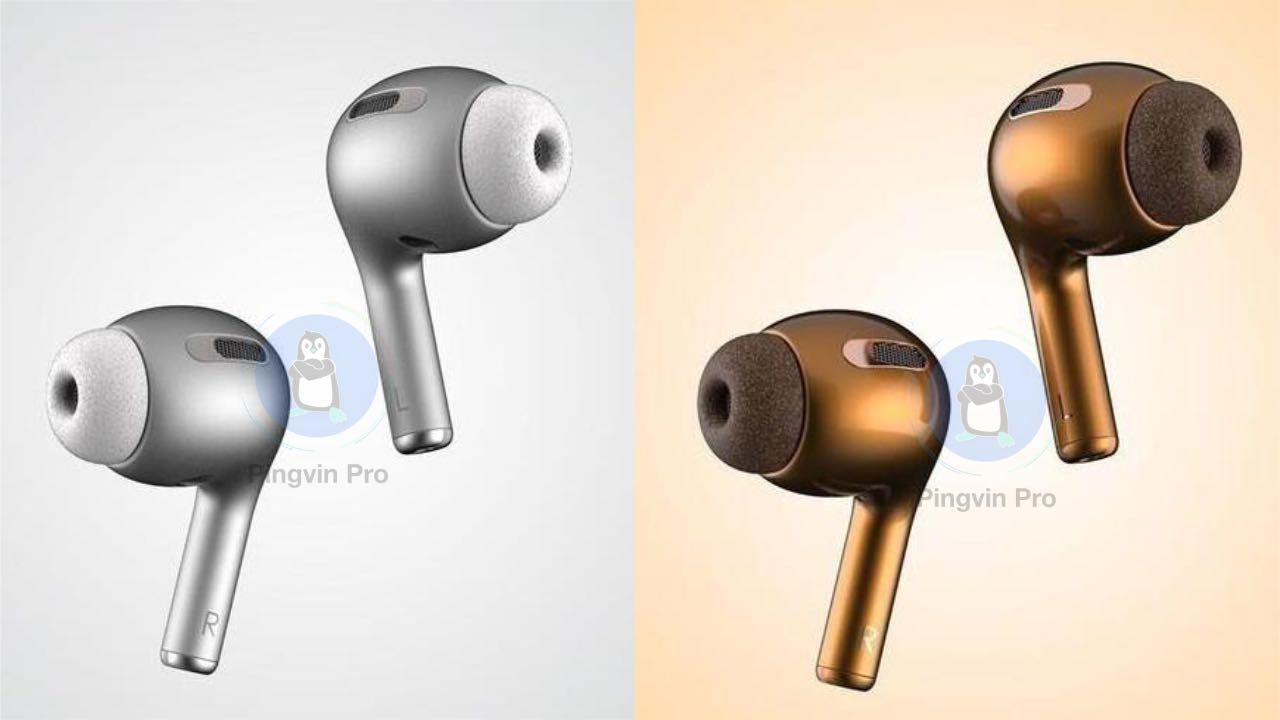 Apple AirPods 3 3D рендер