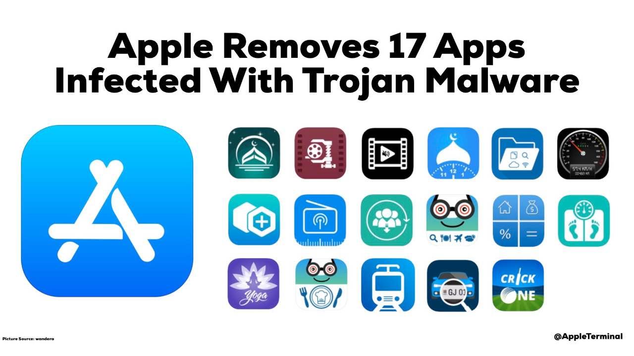 В App Store виявили 17 додатків з трояном