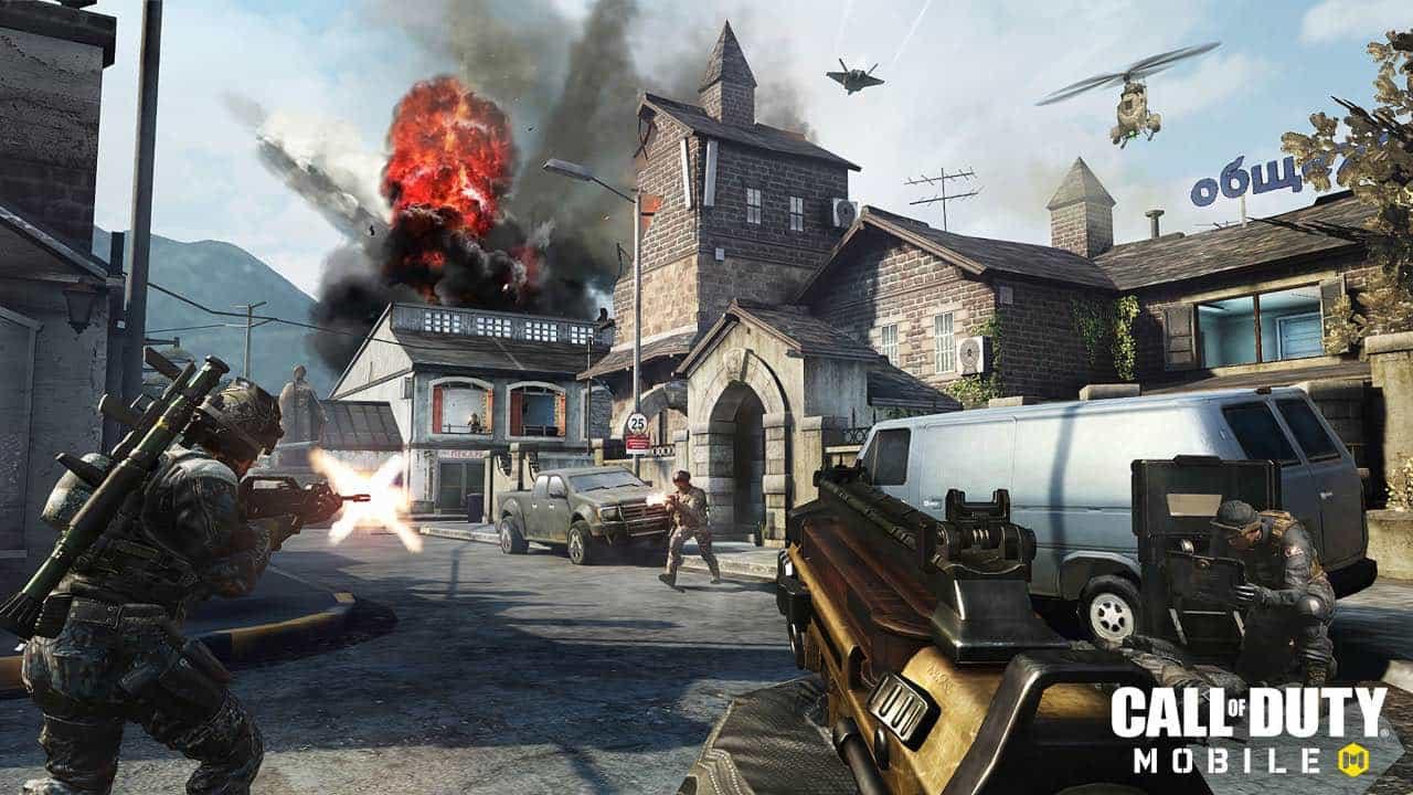 Call of Duty Mobile стала доступна для Android, iOS та iPadOS