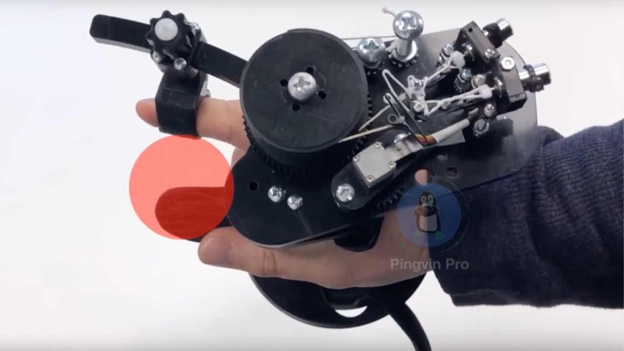 Прототип VR-контролера CapstanCrunch