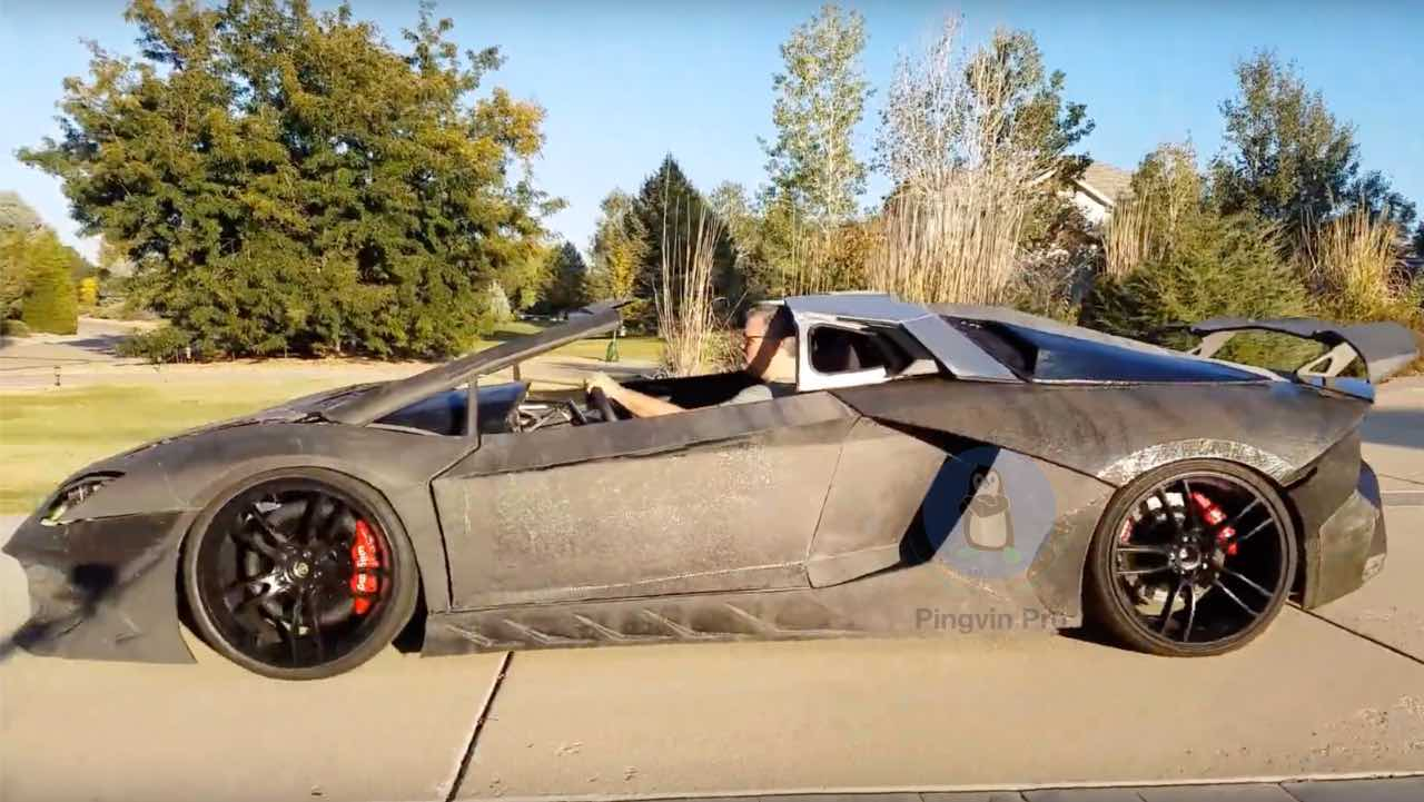 Lamborghini на 3D-принтері