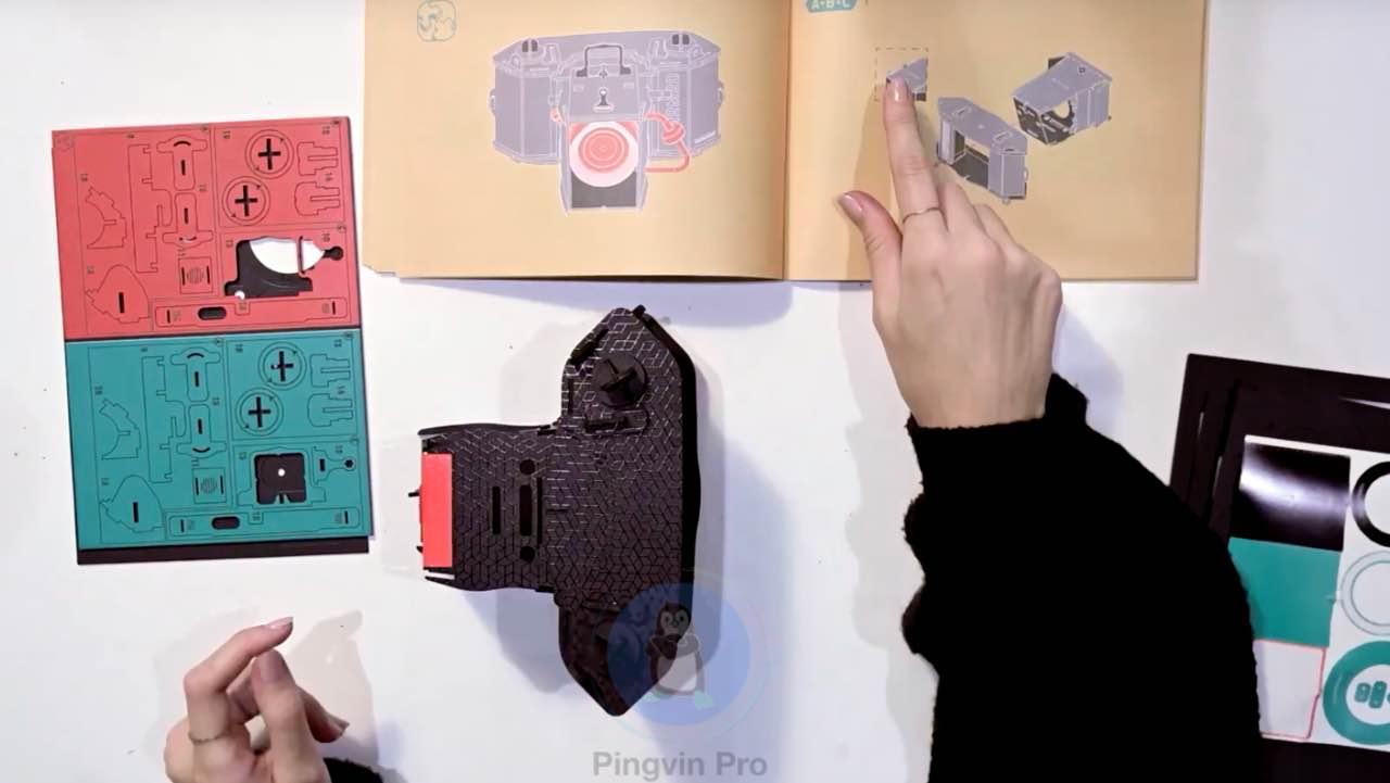 Картонна камера LomoMod № 1 отримала незвичайний об'єктив