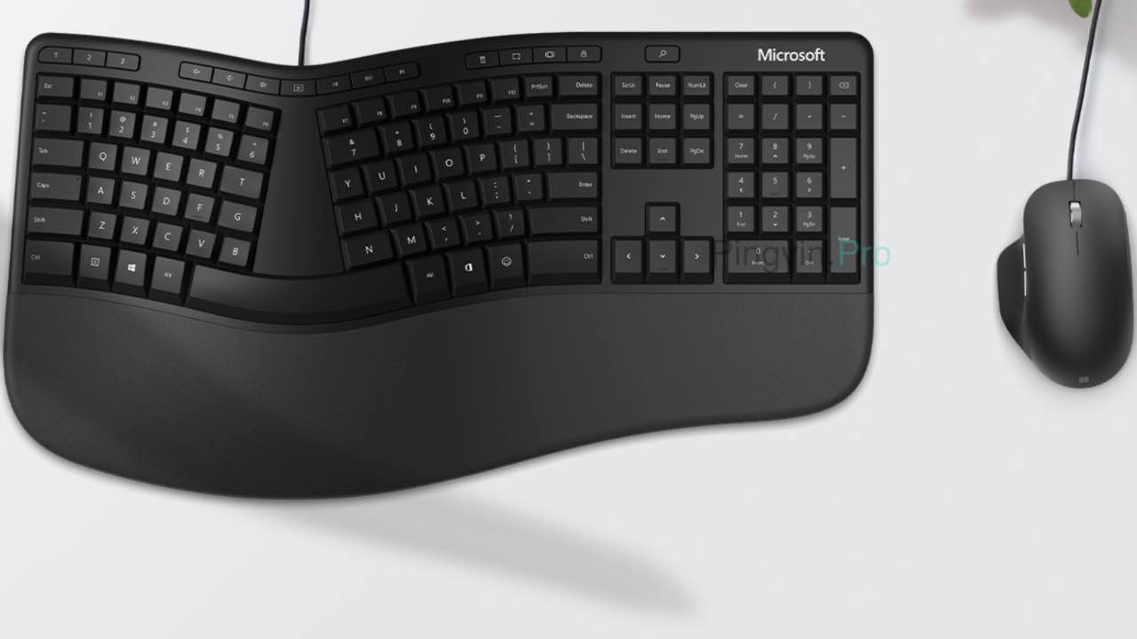 Microsoft Ergonomic Mouse та Microsoft Ergonomic Keyboard
