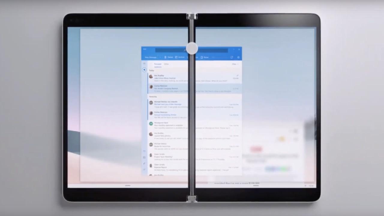 Surface Neo на Windows 10X