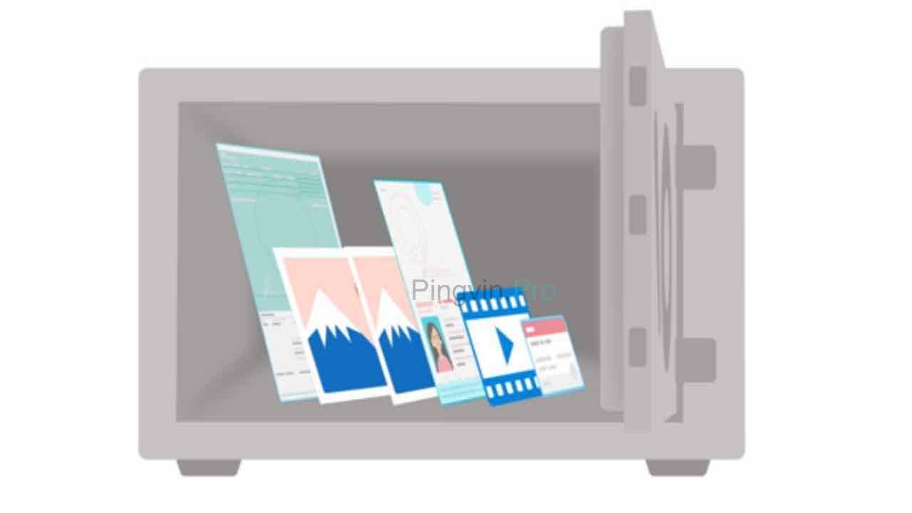 OneDrive Personal Vault сейф з файлами