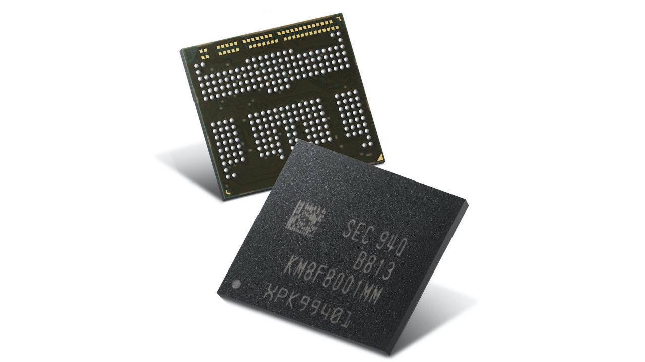 Samsung RAM LPDDR4X uMCP
