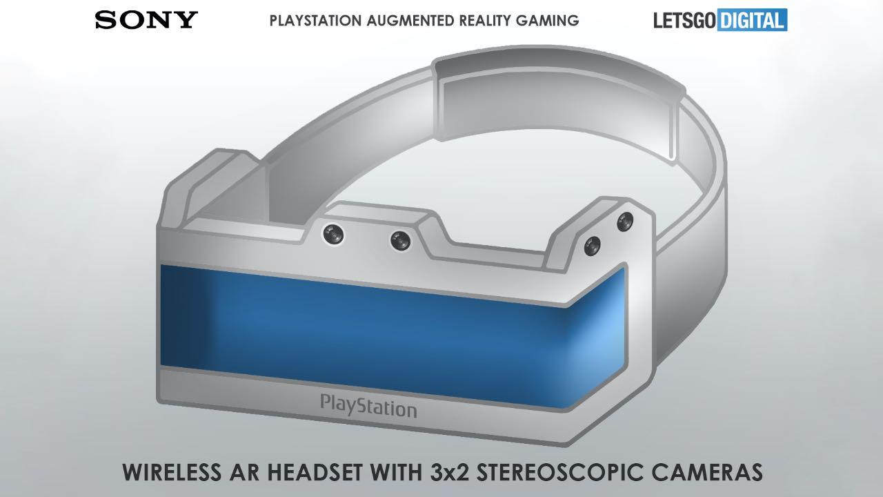 Sony запатентувала AR-гарнітуру для PlayStation 5