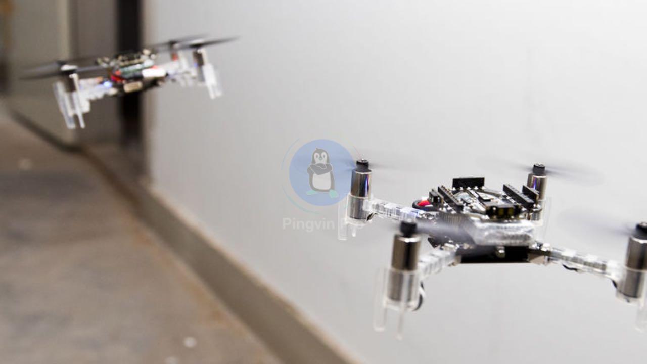 Рій маленьких дронів зможе досліджувати небезпечні середовища