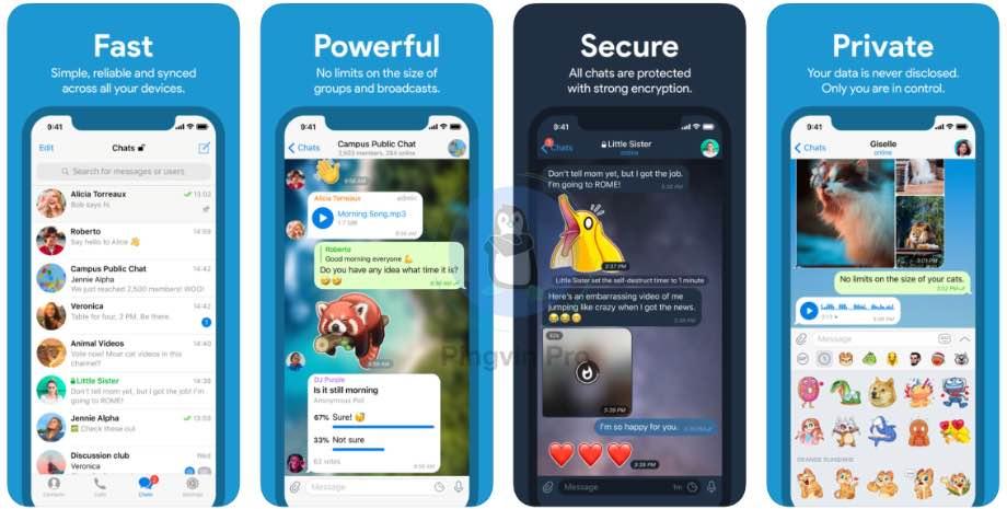 Telegram для iOS