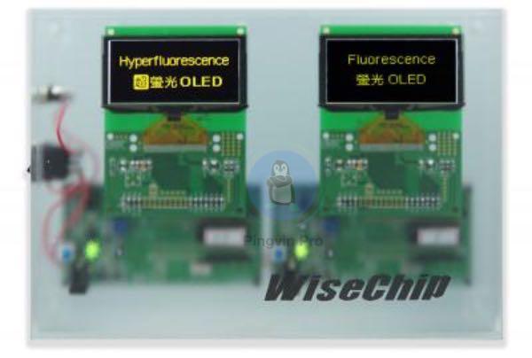 Wisechip представила перший у світі гіперфлуоресцентний OLED-дисплей