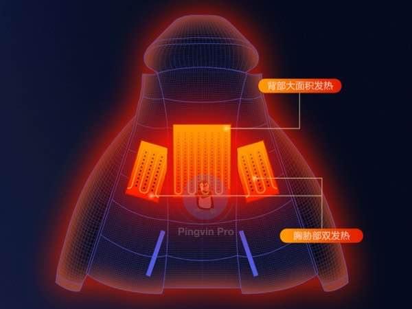 Xiaomi випустила розумну куртку з підігрівом