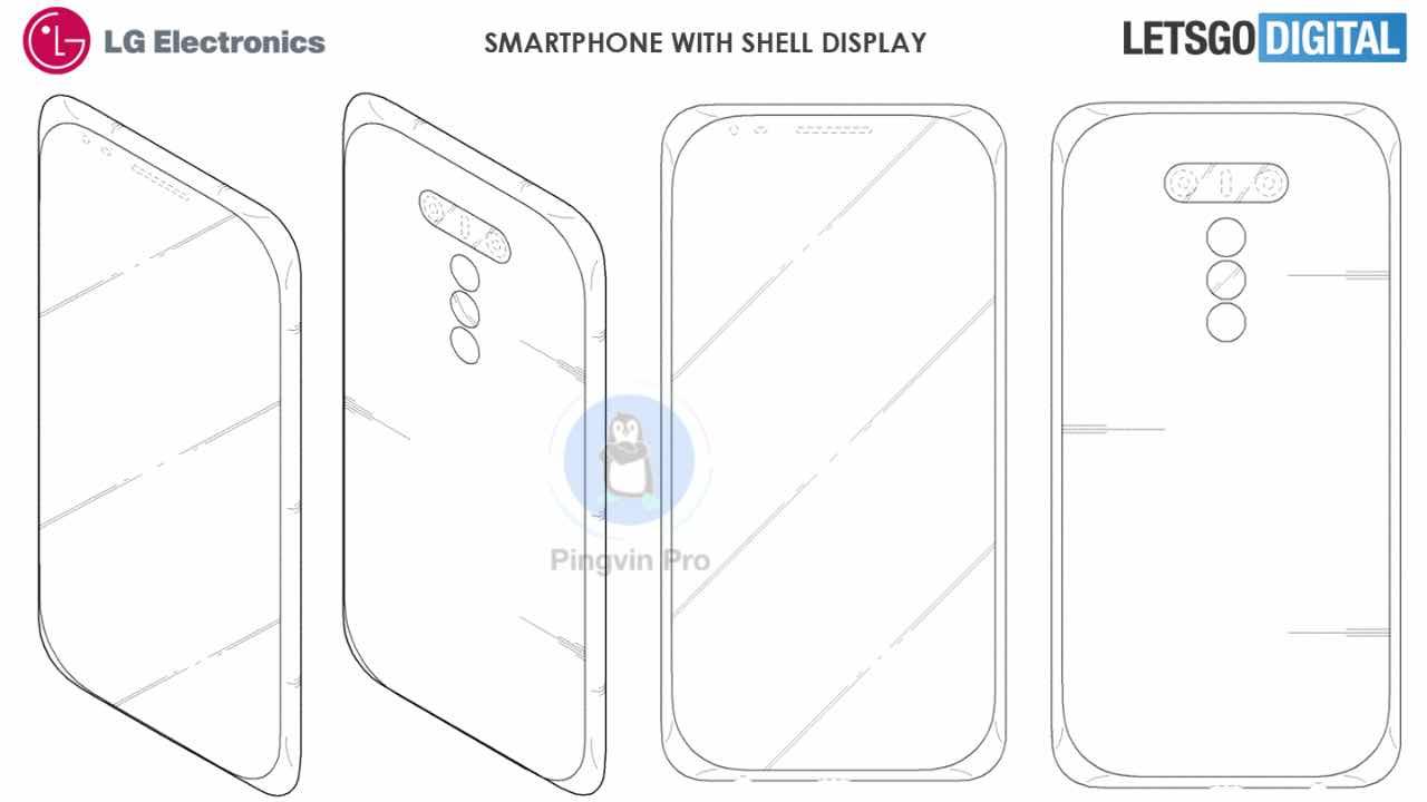 LG Shell Display – безрамковий смартфон