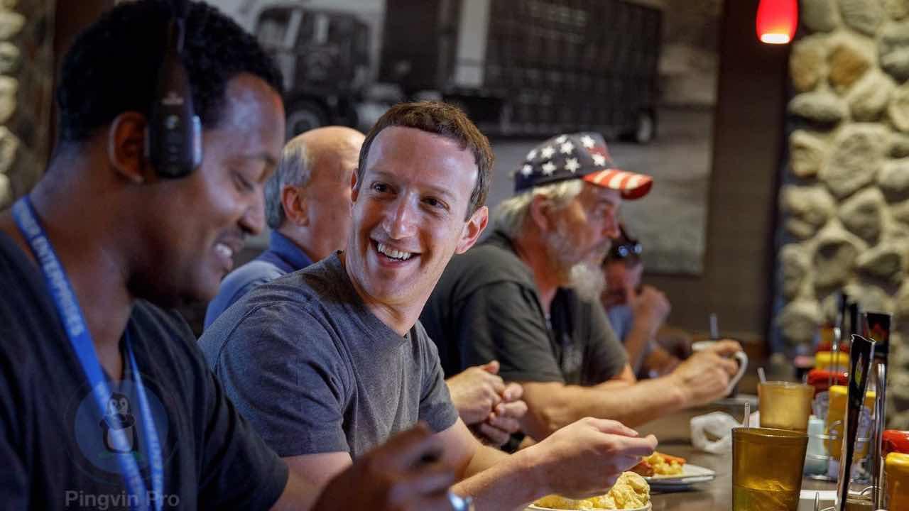 Як харчуються мільярдери IT-світу: Марк Цукерберг