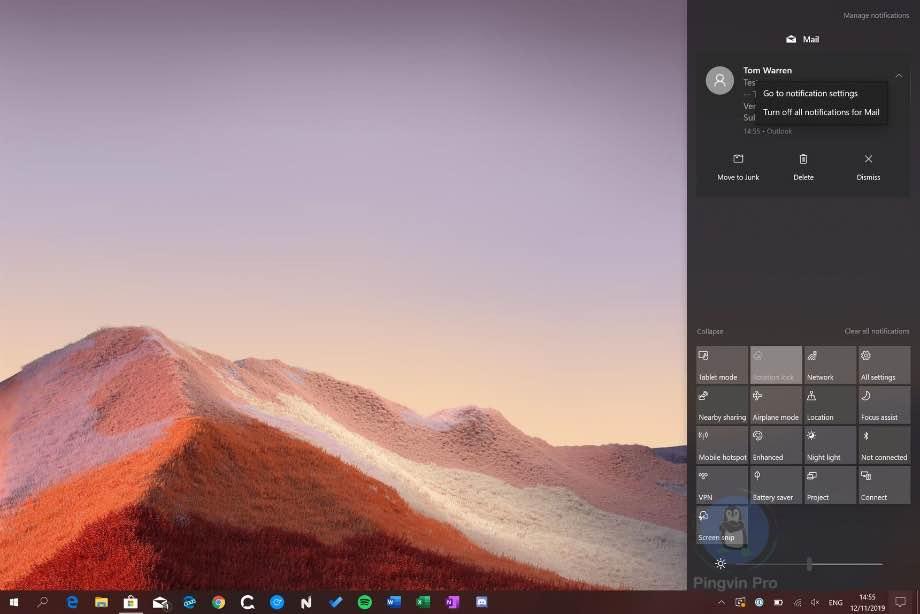 Microsoft листопадне оновлення для Windows 10