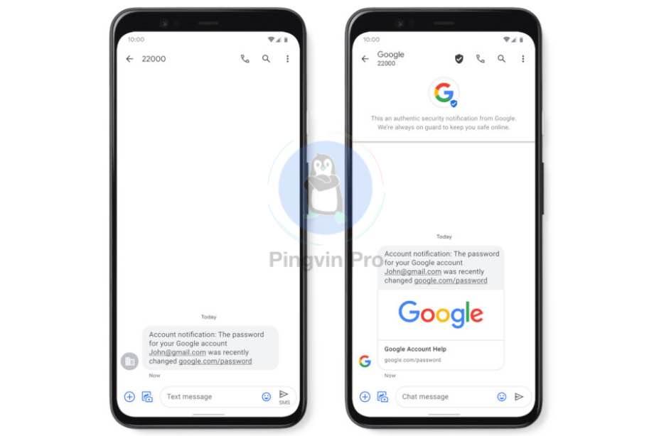 Додаток Google Messages отримав функцію захисту від спаму