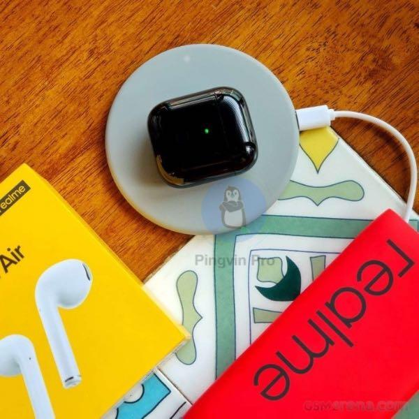 Realme Buds Air бездротова зарядка