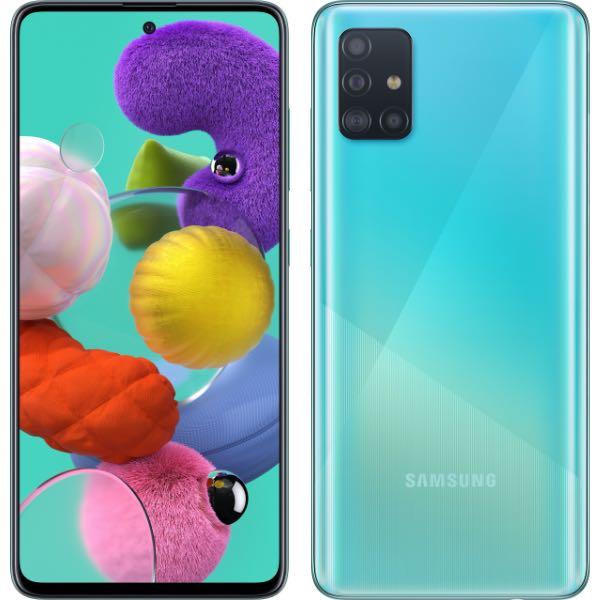 Samsung Galaxy A51 та Samsung Galaxy A71
