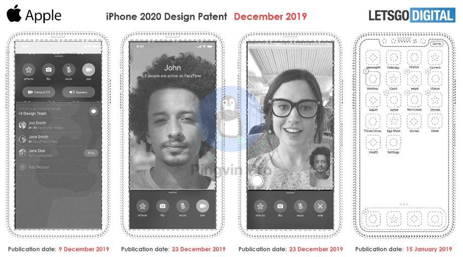 Патент iPhone 2020