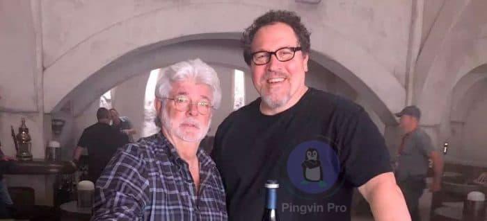 Джордж Лукас відвідав знімальний майданчик серіалу Мандалорець