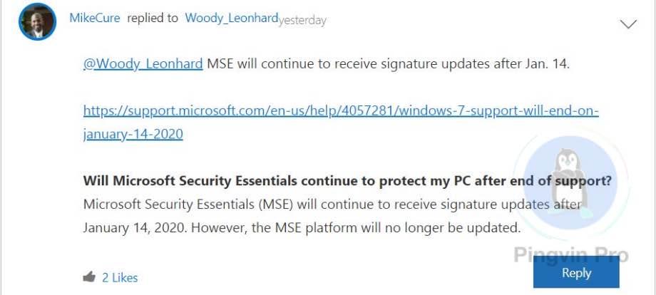 Windows 7 все ще отримуватиме оновлення для захисту операційної системи
