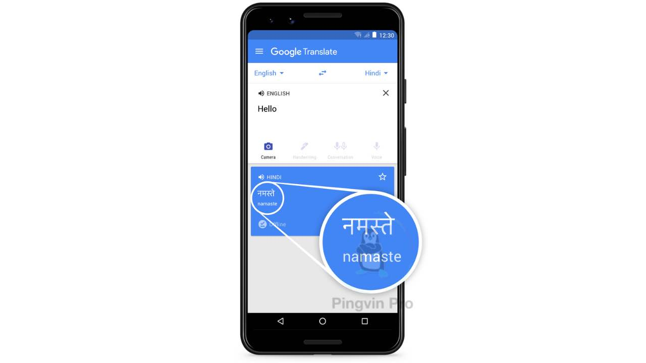 Транслітерація в Google Translate для Android та iOS