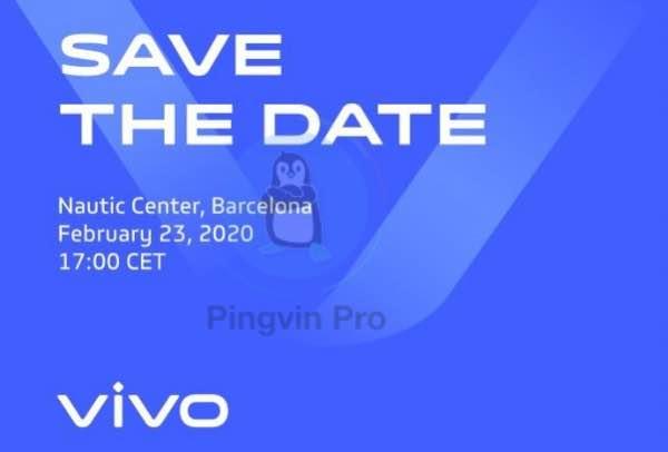 Vivo підтвердила запуск нового флагмана на MWC 2020