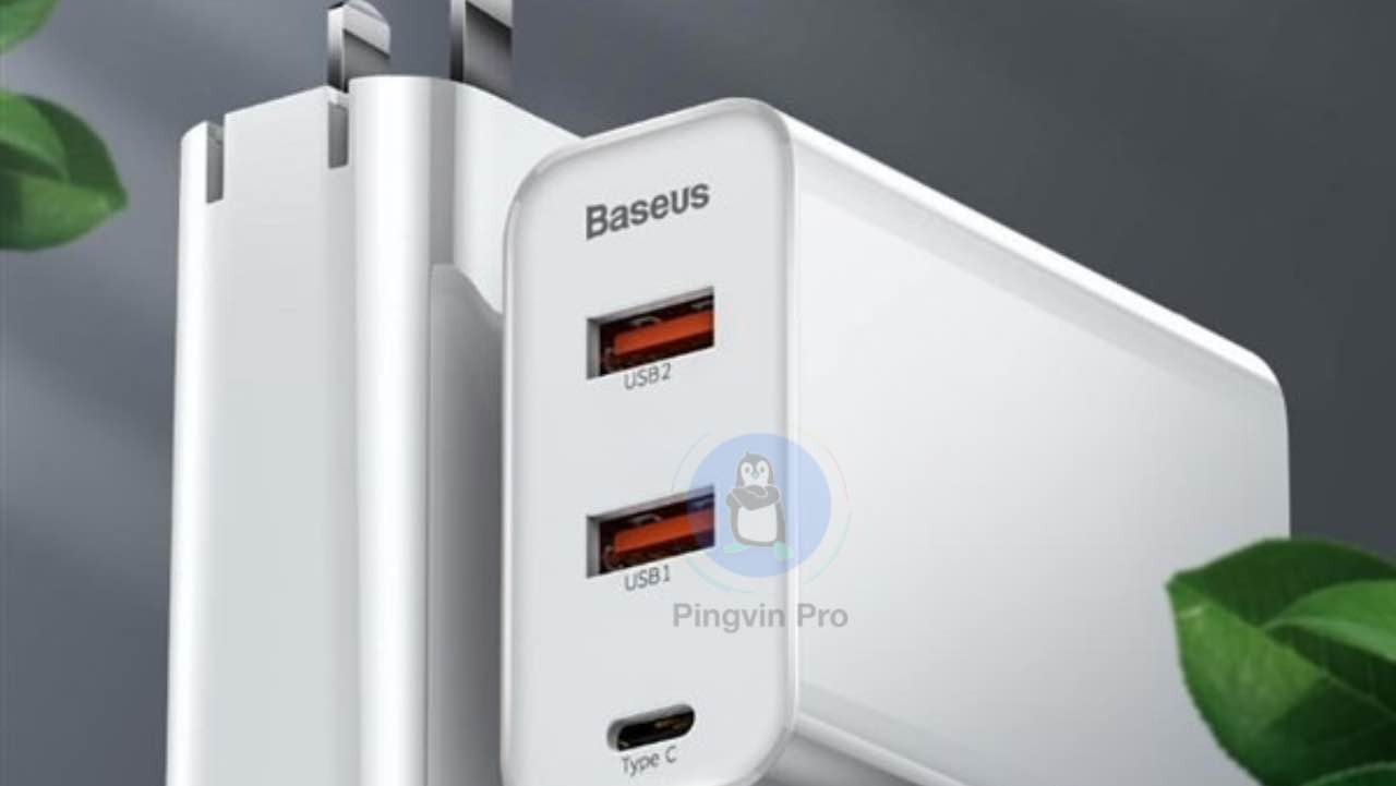 Бюджетний адаптер Xiaomi Baseus 3-port 60W